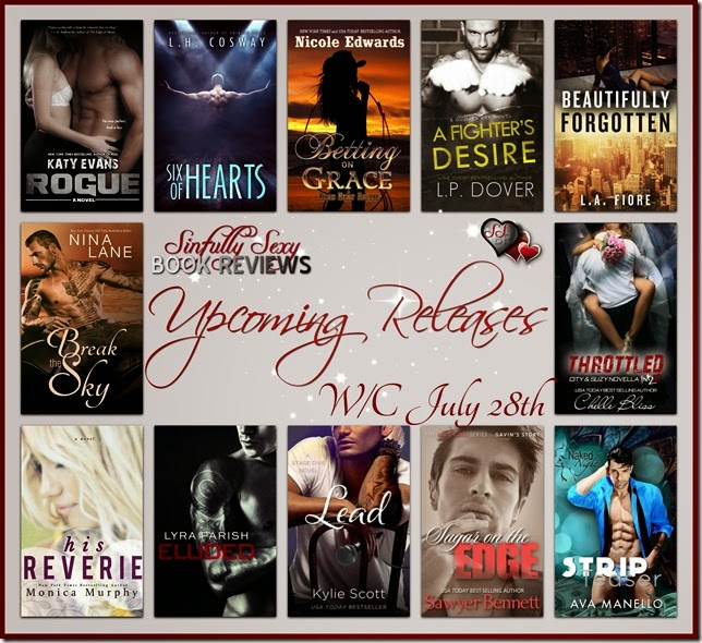 upcoming releases wc july 28