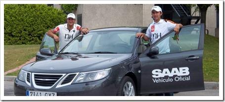 SAAB apuesta por el mejor pádel del mundo: patrocinador de S. Nerone y D. Gutiérrez