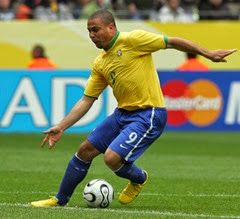 Ronaldo the goal scoring machine of Brazil