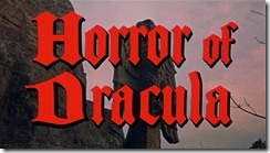 Horror of Dracula Title
