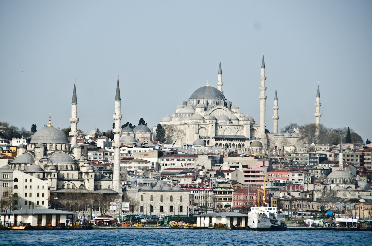 The Blue Mosque from the river
