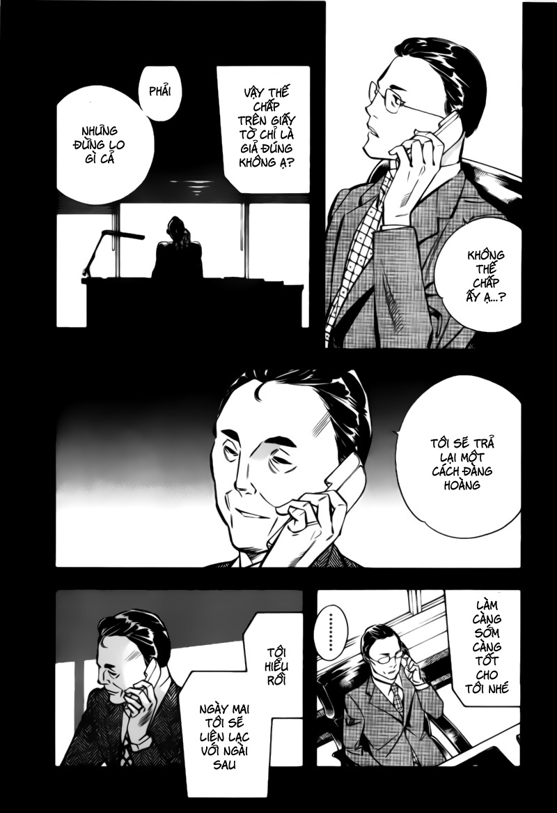 Shin Kurosagi - Con Diệc Đen 2 chap 197 - Trang 15