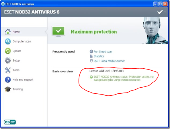 ESET NOD32 Antivirus 6 Download Full Version 2014-2015 With Serial Key