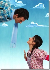 Leonel Pé de Vento - cartaz da peça