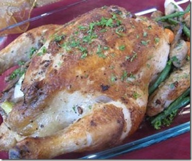 garlic roasted chicken resep ayam spesial   resep menu
