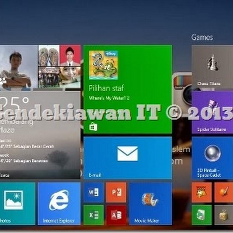 Cara Mengembalikan Ms. Games Windows 7 Pada Windows 8