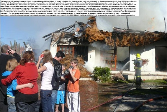 Silk family house destroyed Glen Marais Kempton Park Jun3020110_FIREDEPT_DID_NOT_ANSWER_PHONES