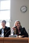 Forskarpanel på ForskarFredag i Trollhättan 2011. Foto: Högskolan Väst.