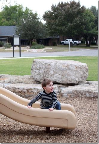 Michael at park