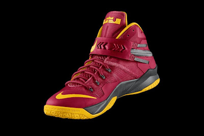 nike zoom soldier 8 id options preview 1 02 Design Your Own Cleveland Cavaliers Soldier 8s on NIKEiD