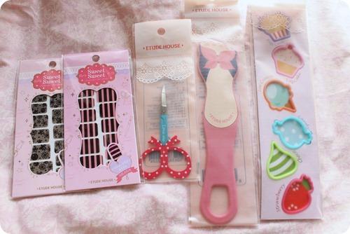 Etude House accesories