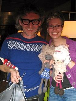 Meg og Arne sammen med Milton og Kamilla