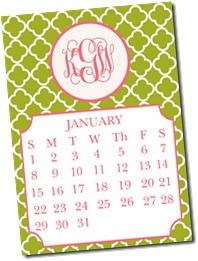 Calendar Draft