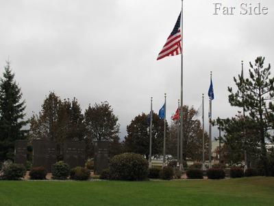 Veterans memorial Park Rapids