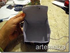 artemelza - bolsa de feltro duplo-12