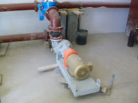 Raw sludge pump