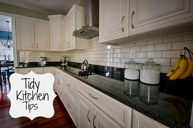 Tidy Kitchen Tips from Decor and the Dog