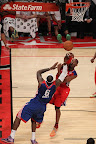lebron james nba 130217 all star houston 67 game 2013 NBA All Star: LeBron Sets 3 pointer Mark, but West Wins