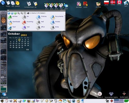 rox desktop file manager3