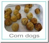 corn dogs button