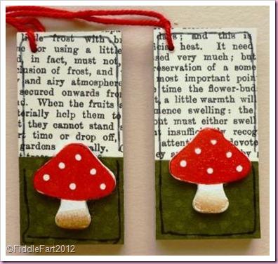 Wooden Mushroom Tags