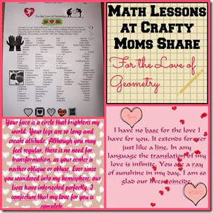 For the Love of Geometry at Crafty Moms Share
