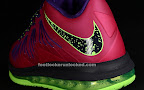 nike lebron 10 low gr purple neon green 4 05 Release Reminder: NIKE LEBRON X LOW Raspberry (579765 601)