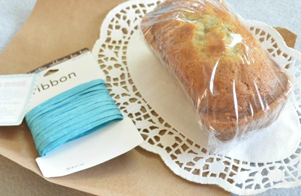 banana bread packaging