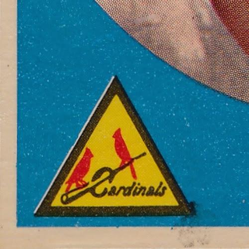 1959 Topps 6 Alex Grammas light variation