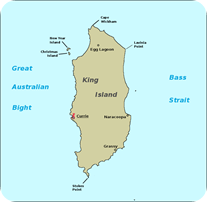 King_island_map