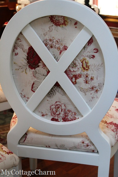 how to upholster a Louis chair