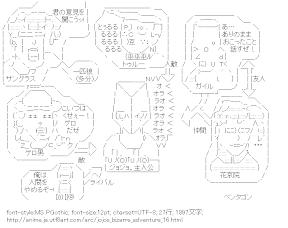 [AA]空条承太郎 関連図 (ジョジョの奇妙な冒険)
