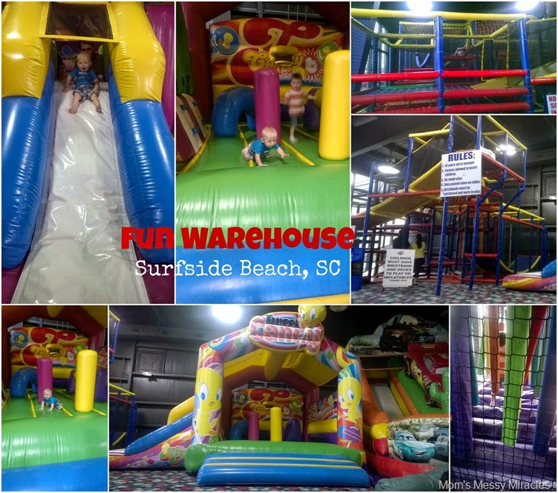 Inflatables & Soft play Fun Warehouse