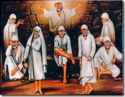 Sai Baba many forms
