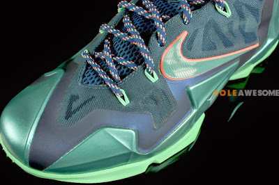 nike lebron 11 gr akron vs miami 6 04 Akron vs. Miami Nike LeBron XI   New Photos
