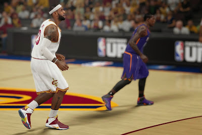 nike lebron 12 xx nba 2k15 update 1 05 LeBron 12 Available Now in NBA 2K15 with Edit Mode Enabled