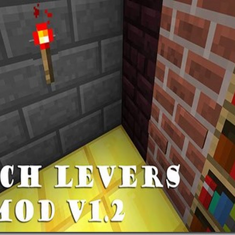 Minecraft 1.5.1 - The Torch Levers Mod (Leva/Torcia)