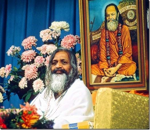 Maharishi Mahesh Yogi, Humboldt State University, Arcata, Calif., August, 1971.