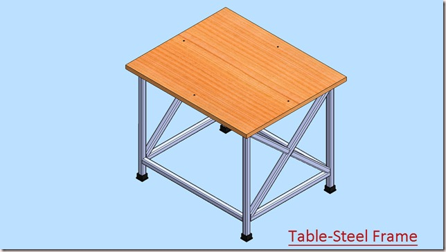 Table-Steel Frame_1
