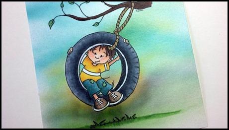 Sassy Cheryl's, Noah's Tire Swing