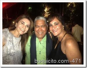 Carolina Mejia con Danny Rivera