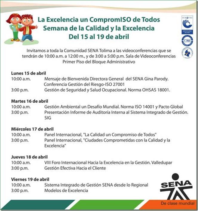 Invitación Tolima Videoconferencias