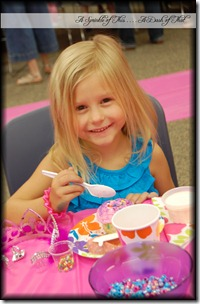 Fancy Nancy  Party Treats {A Sprinkle of This . . . . A Dash of That}