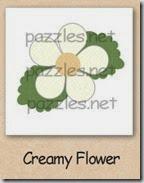 creamy flower 200