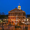 Faneuil Hall, Nightime