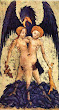 Aurora Consurgens Manuscript Fig9 Hermaphrodite With Eagle