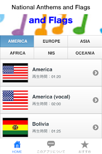 National Anthems and Flags - screenshot