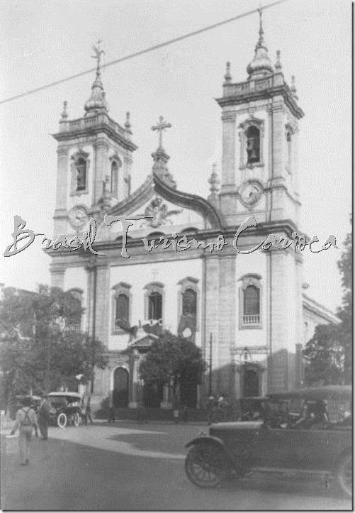 Igreja de São Francisco de Paula - anos 30 (Largo S. Francisco - Centro)
