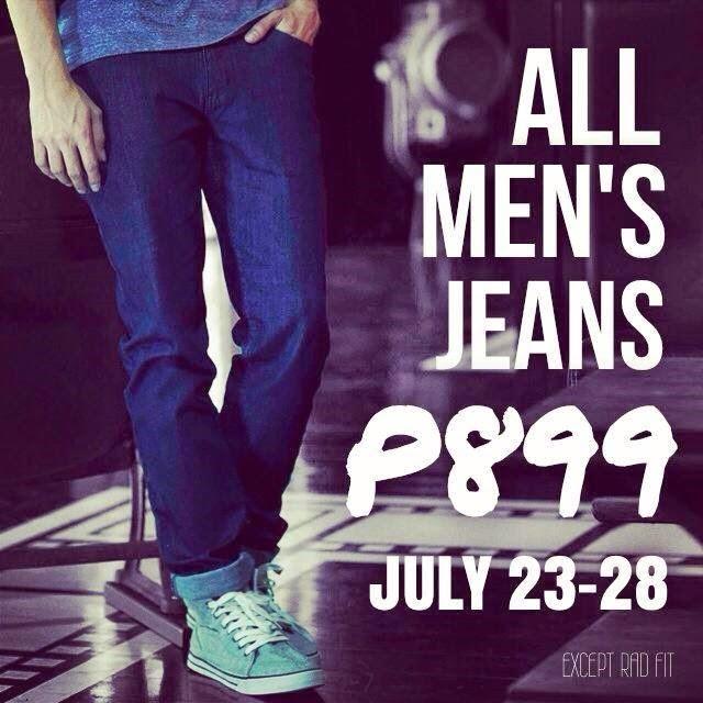 Penshoppe All Men's Jeans Sale