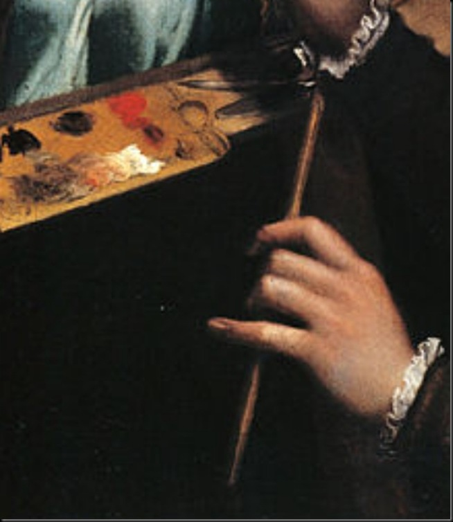 Sofonisba-Anguissola-Autorretrato-detalle